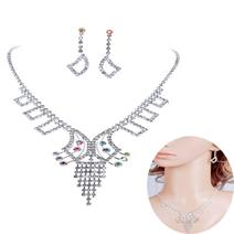 Örhängen Halsband Set