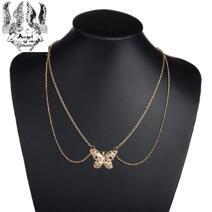 Mode halsband Fjäril