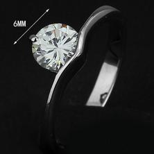 316L rostfritt stål Lady ring